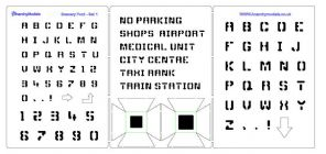 HS28 - Scenery Font - 1